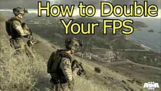 getlinkyoutube.com-How To Double Your FPS | Arma 3