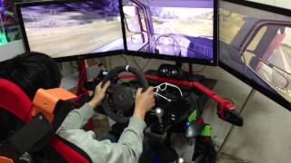 getlinkyoutube.com-Eurotruck simulator 2 - FANATEC GT2