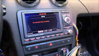 getlinkyoutube.com-Audi RNS-E LED 2011 + Bluetooth + MDI
