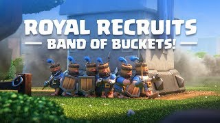 Clash Royale: Introducing Royal Recruits! (New Card!) width=