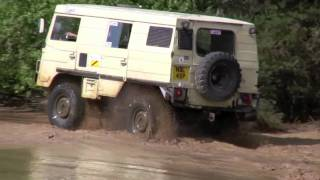 Pinzgauer extreme 4x4 off road!! Near disaster!!!