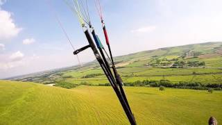 getlinkyoutube.com-Caburn paragliding with Paul 8 Jun 2016