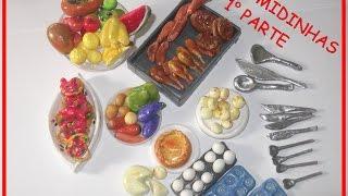 getlinkyoutube.com-Como fazer comidinhas para Barbie com massinha de biscuit (1° parte)