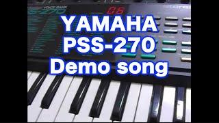 YAMAHA PSS-270 Demo song