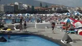 getlinkyoutube.com-Lago Martianez Puerto de la Cruz sea-water pool