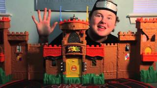 getlinkyoutube.com-Kohdok Reviews the Imaginext Eagle Talon Castle!