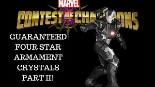 getlinkyoutube.com-Marvel: Contest of Champions (iOS/Android) - GUARANTEED FOUR STAR - ARMAMENT CRYSTAL PART II!