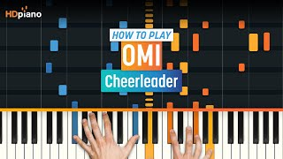 "getlinkyoutube.com-How To Play ""Cheerleader"" by OMI 
