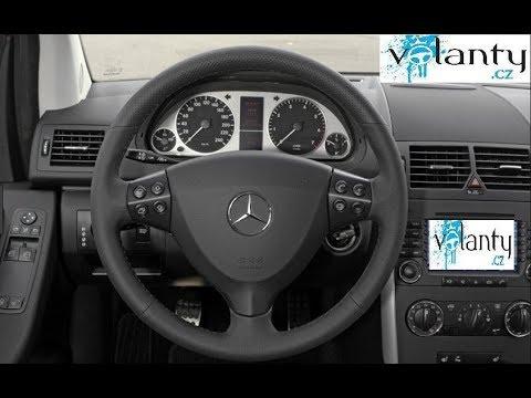 Как снять подушку безопасности : Mercedes Benz A w169  VOLANTY.CZ