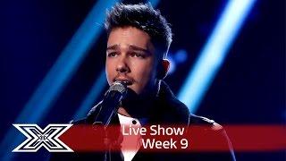 getlinkyoutube.com-Matt Terry kicks off Christmas Week with Silent Night! | Semi-Final | The X Factor UK 2016