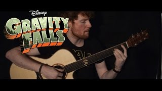 Gravity Falls: Theme Song/Weirdmageddon Guitar Cover by CallumMcGaw