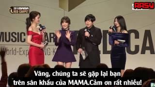 getlinkyoutube.com-161202 [Vietsub] Taeyeon MAMA 2016 Red Carpet