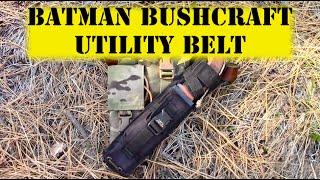 getlinkyoutube.com-Batman Bushcraft Utility Belt