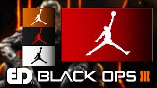 Black Ops 3: AIR JORDAN JUMPMAN Emblem Tutorial (Emblem Attack 3)