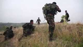 getlinkyoutube.com-Mountain Raid - Philippine Marines and US Marines Combined Ground Offensive
