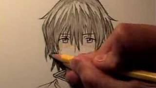 getlinkyoutube.com-How To Draw Manga Hair, Four Different Ways