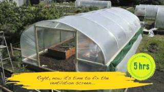 getlinkyoutube.com-How easy is a Polytunnel to construct? - V71