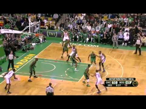 NBA OKC Thunder Vs Boston Celtics Recap 01/06/2012 MLK Day