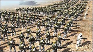 getlinkyoutube.com-CLONE BATTALION - Star Wars: Galaxy at War Mod Gameplay