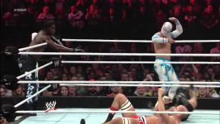 getlinkyoutube.com-Rey Mysterio, Sin Cara & R-Truth vs. The Prime Time Players & Antonio Cesaro: Raw, Nov. 5, 2012