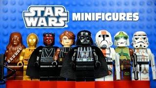 LEGO Star Wars: The Clone Wars KnockOff Minifigures Set 3 w/ Darth Vader Darth Maul & C3PO