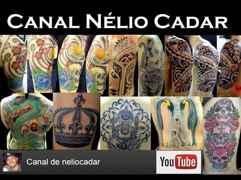 068 Nélio Cadar tatuando Carpa Oriental no Alex(fechamento 3/4)