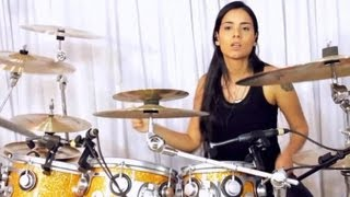 getlinkyoutube.com-Patricia Teles Drum Solo (Moby Dick - Led Zeppelin)