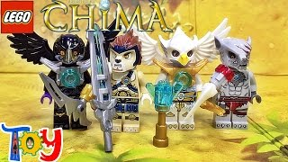 getlinkyoutube.com-레고 키마의 전설 배틀 팩 850779 레녹스,윈자,라즈칼,이와르 미니피겨 세트 리뷰 Lego Chima Battle Pack