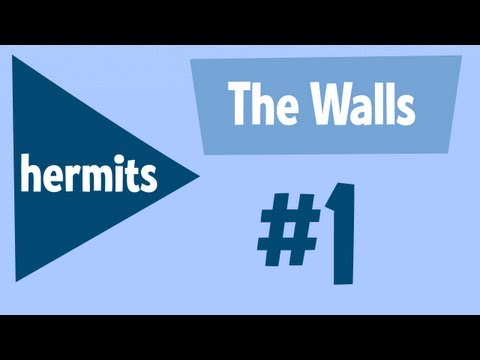 Minecraft The Walls 1v1v1v1 - Hermits play with Minecrafted, Hypnotizd, Xisuma, and Joe Hills