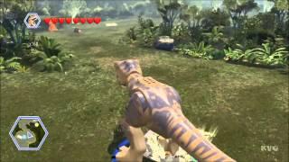 LEGO Jurassic World - All Playable Dinosaurs Unlocked | Free Roam Gameplay [HD]