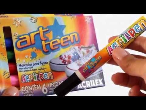 ArtTeen - Como fazer almofada com poesia