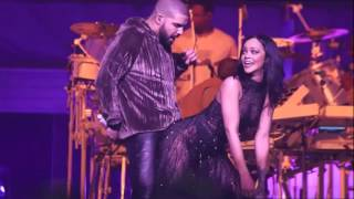 getlinkyoutube.com-ANTI World Tour Work Drake is Rihanna's Special Guest in Miami HD