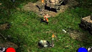 getlinkyoutube.com-Diablo 2 Gameplay 1 - Speak with Warriv & Akara