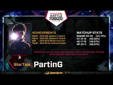 Stephano (Z) vs PartinG (P) G1 Red Bull Battlegrounds Austin Quarterfinals