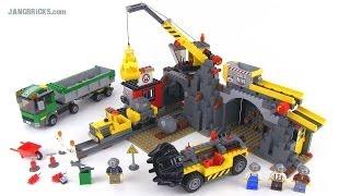 """getlinkyoutube.com-LEGO City 4204 """"The Mine"""" set review!"""