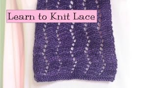 getlinkyoutube.com-Learn to Knit Lace, Parts 1-5