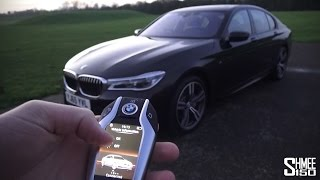 getlinkyoutube.com-Being Chauffeured in the New BMW 7 Series - TECH FEST!