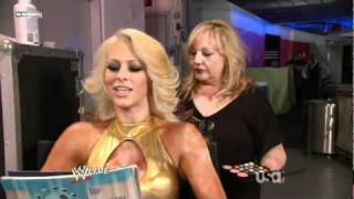 getlinkyoutube.com-WWE Raw 51710 Maryse  Eve Torres Backstage Segment