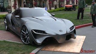 getlinkyoutube.com-The Next Generation Supra?  The Toyota FT-1 Concept