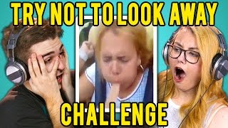 getlinkyoutube.com-ADULTS REACT TO TRY NOT TO LOOK AWAY CHALLENGE