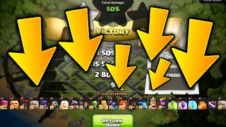 """getlinkyoutube.com-Clash of Clans - """"SO MANY TROOPS!!"""" (CoC Weird Strange NEW Attack Strategies)"""