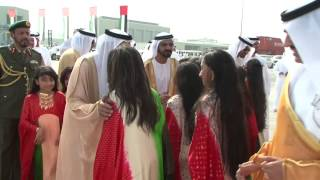 getlinkyoutube.com-mamemo creates a stunningly powerful inauguration event for Khalifa Port