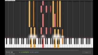 getlinkyoutube.com-Pink Floyd - Comfortably Numb (Synthesia) (audio sync)