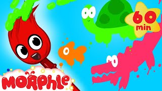 getlinkyoutube.com-My Magic Colors - Learn Colors for kids! ( + 1 hour Shapes and Phonics and more with Morphle)