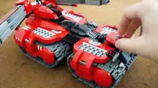 getlinkyoutube.com-Lego Garm Gauss Tank