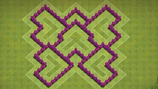 getlinkyoutube.com-Clash of Clans - MELHOR LAYOUT CV 6 TROFÉUS/BASE DE GUERRA