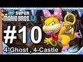 New Super Mario Bros U: World 4-Swaying Ghost House, and 4-Wendy's Shifting Castle&quot;