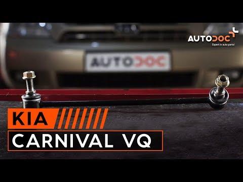 Как да сменим предна стойка на стабилизатор на KIA CARNIVAL VQ ИНСТРУКЦИЯ | AUTODOC