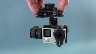 getlinkyoutube.com-Tarot T4-3D 3-axis brushless gimbal For GoPro - Review, examples and test footage.