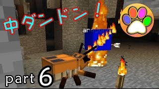 【minecraft】黄昏の森に船を作ろう!パート6【あしあと】(中ダンドン編)